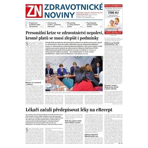Zdravotnické noviny - pro lékaře - 3/2018 - Elektronické noviny