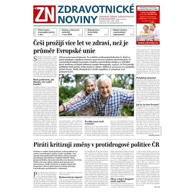 Zdravotnické noviny - pro lékaře - 5/2018 - Elektronické noviny