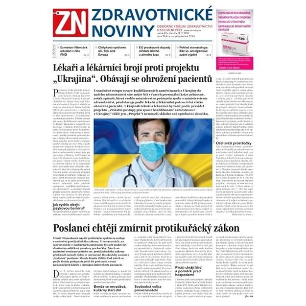 Zdravotnické noviny - pro lékaře - 8/2018 - Elektronické noviny