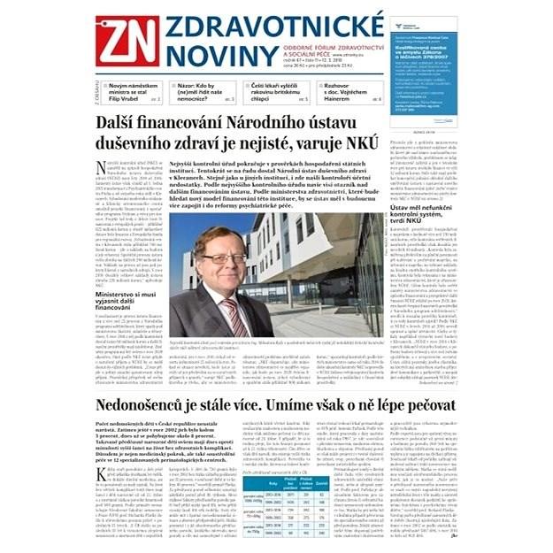 Zdravotnické noviny - pro lékaře - 11/2018 - Elektronické noviny