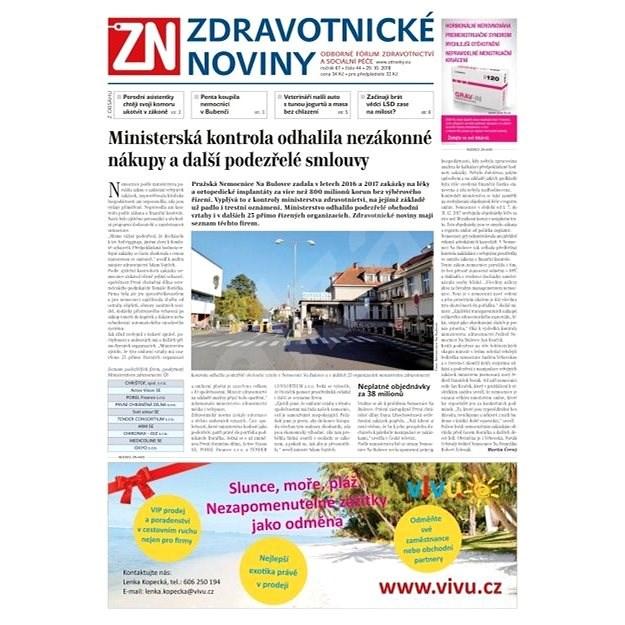 Zdravotnické noviny - pro lékaře - 44/2018 - Elektronické noviny