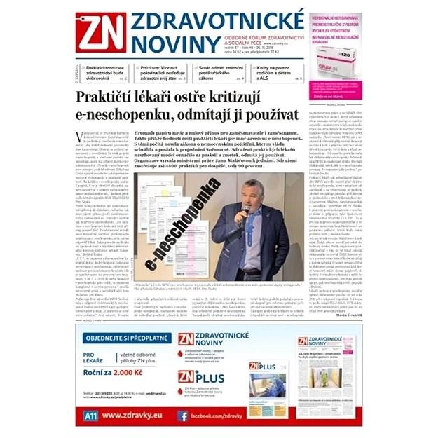 Zdravotnické noviny - pro lékaře - 48/2018 - Elektronické noviny