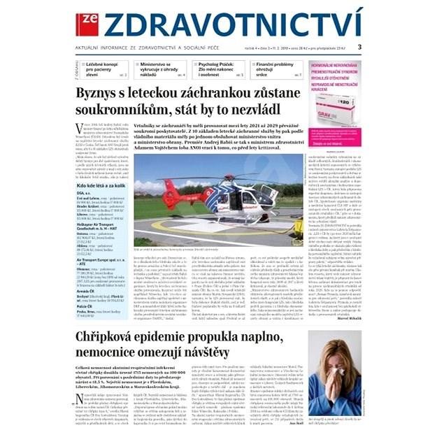 Ze zdravotnictví + PROFI Medicína - 3/2019 - Elektronické noviny