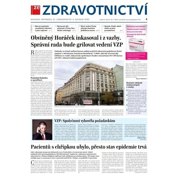 Ze zdravotnictví + PROFI Medicína - 4/2019 - Elektronické noviny