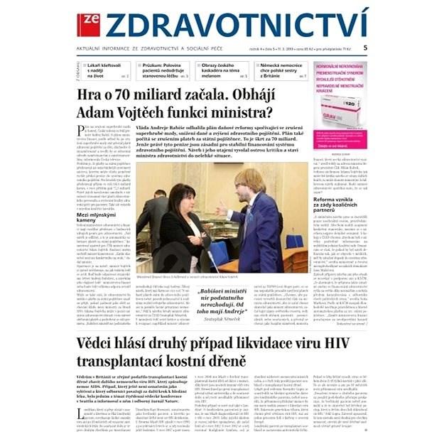 Ze zdravotnictví + PROFI Medicína - 5/2019 - Elektronické noviny