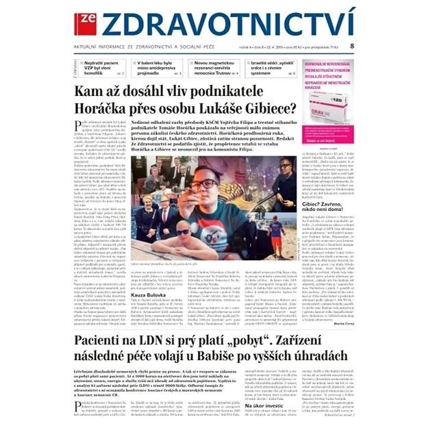 Ze zdravotnictví + PROFI Medicína - 8/2019 - Elektronické noviny