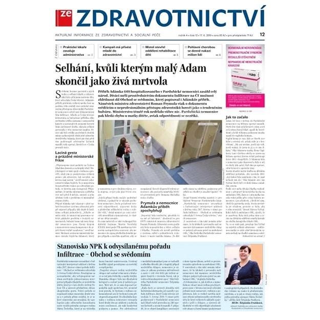 Ze zdravotnictví + PROFI Medicína - 12/2019 - Elektronické noviny