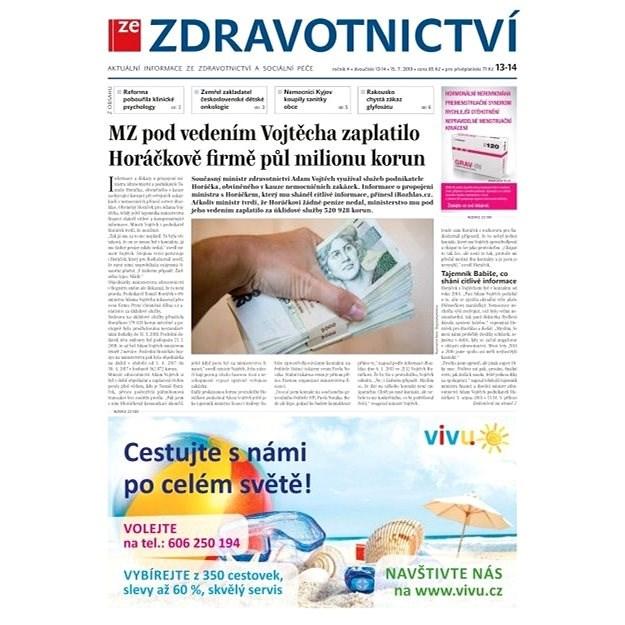 Ze zdravotnictví + PROFI Medicína - 13-14/2019 - Elektronické noviny
