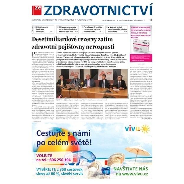 Ze zdravotnictví + PROFI Medicína - 15/2019 - Elektronické noviny