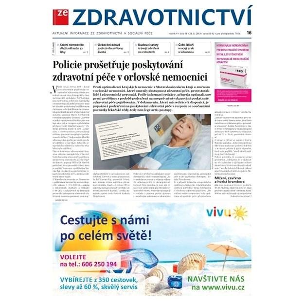 Ze zdravotnictví + PROFI Medicína - 16/2019 - Elektronické noviny