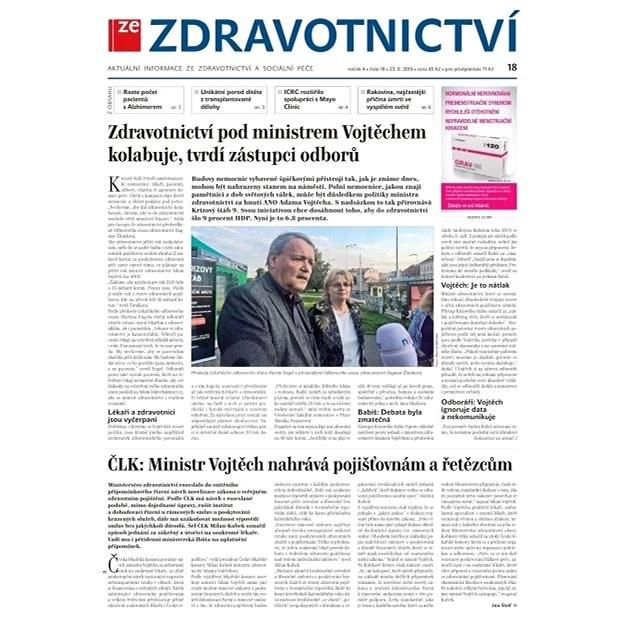 Ze zdravotnictví + PROFI Medicína - 18/2019 - Elektronické noviny