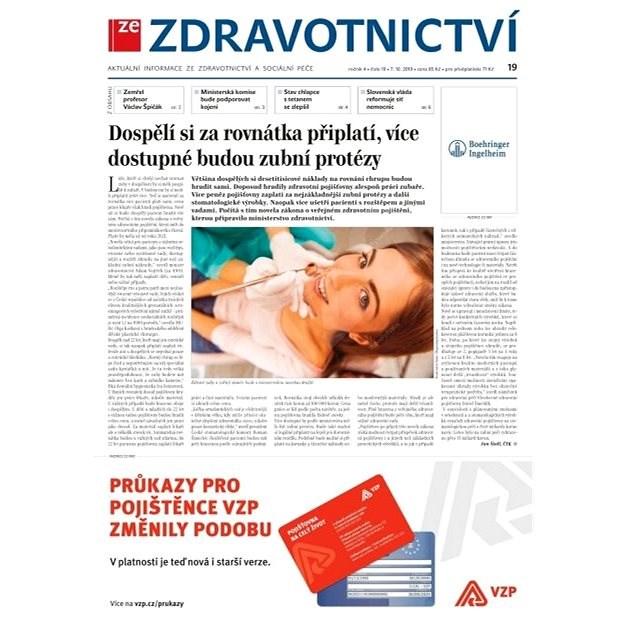 Ze zdravotnictví + PROFI Medicína - 19/2019 - Elektronické noviny