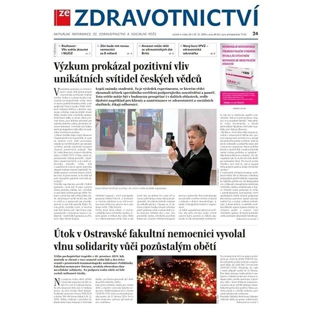 Ze zdravotnictví + PROFI Medicína - 24/2019 - Elektronické noviny