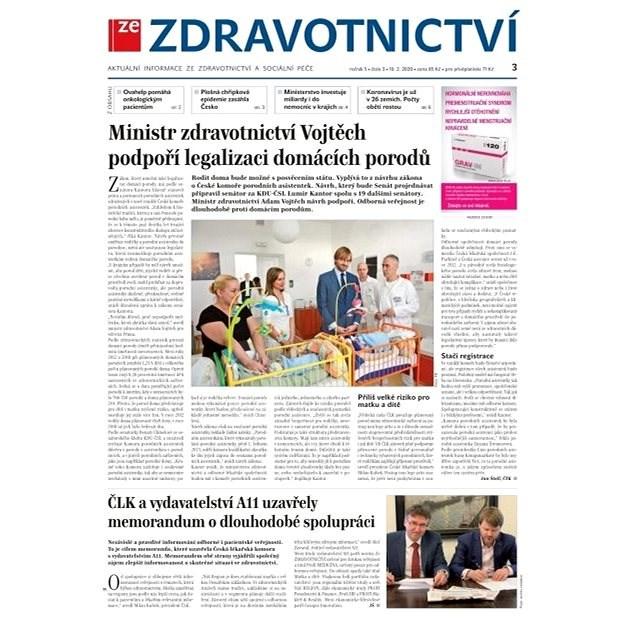 Ze zdravotnictví + PROFI Medicína - 3/2020 - Elektronické noviny