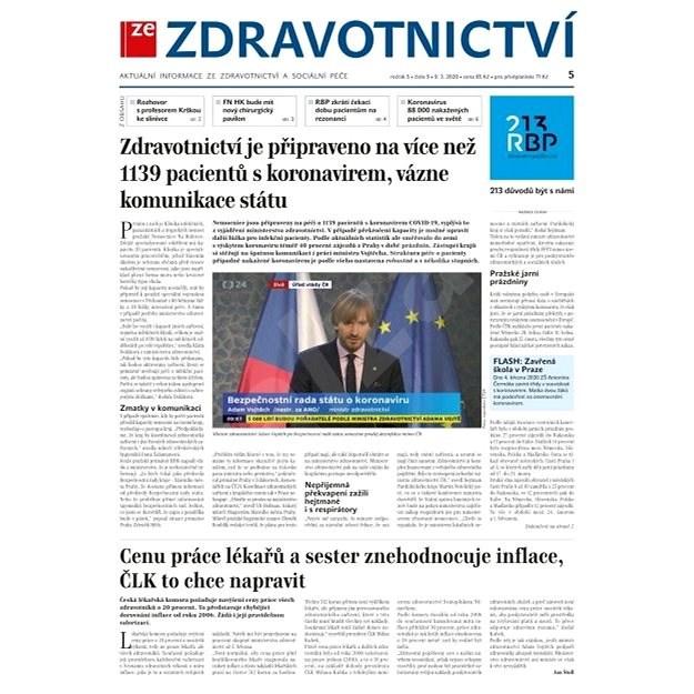 Ze zdravotnictví + PROFI Medicína - 5/2020 - Elektronické noviny