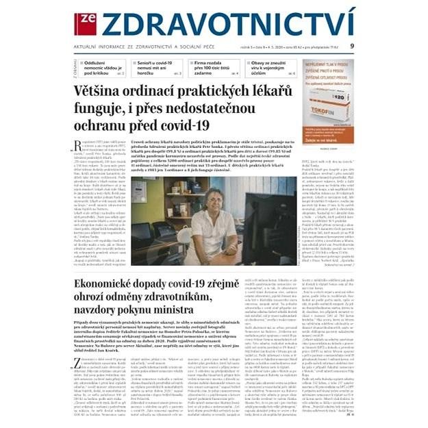 Ze zdravotnictví + PROFI Medicína - 9/2020 - Elektronické noviny