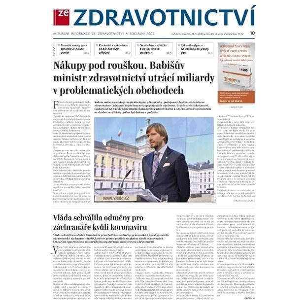 Ze zdravotnictví + PROFI Medicína - 10/2020 - Elektronické noviny