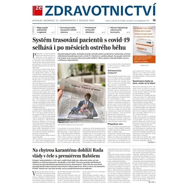 Ze zdravotnictví + PROFI Medicína - 16/2020 - Elektronické noviny
