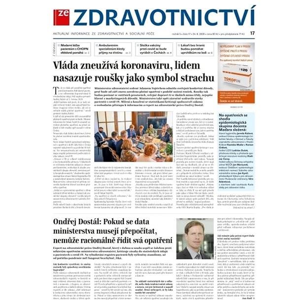 Ze zdravotnictví + PROFI Medicína - 17/2020 - Elektronické noviny