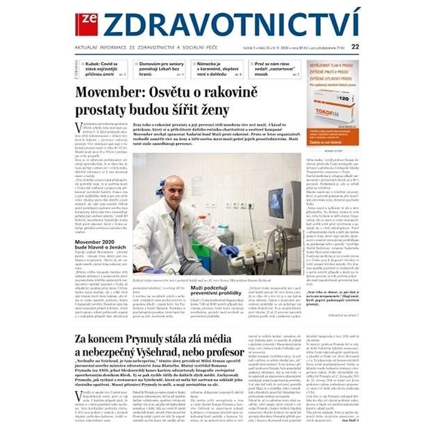 Ze zdravotnictví + PROFI Medicína - 22/2020 - Elektronické noviny