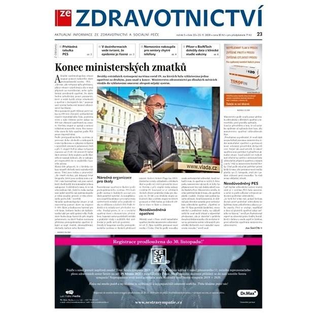 Ze zdravotnictví + PROFI Medicína - 23/2020 - Elektronické noviny