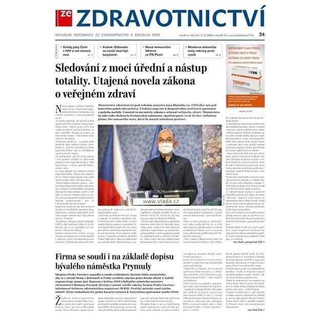 Ze zdravotnictví + PROFI Medicína - 24/2020 - Elektronické noviny