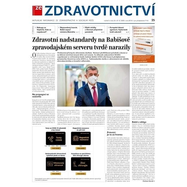 Ze zdravotnictví + PROFI Medicína - 25/2020 - Elektronické noviny