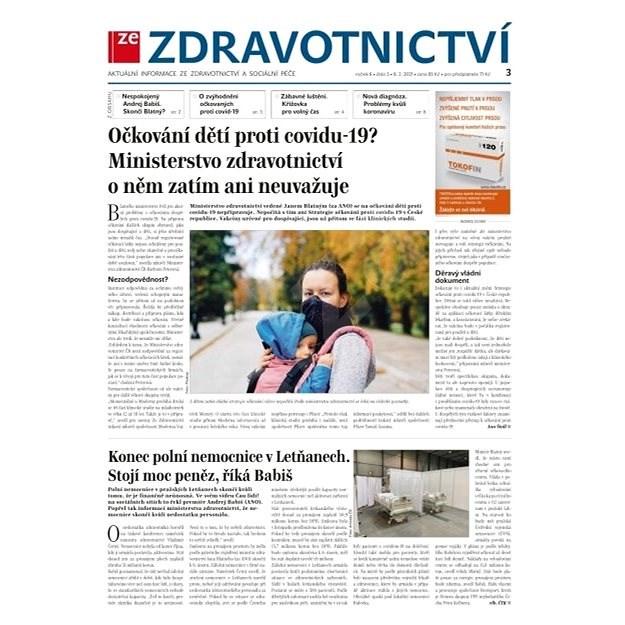 Ze zdravotnictví + PROFI Medicína - 3/2021 - Elektronické noviny