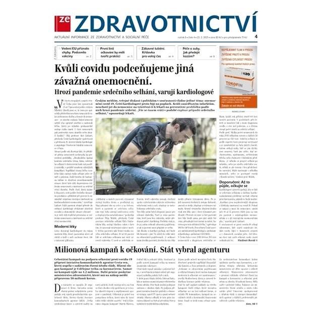 Ze zdravotnictví + PROFI Medicína - 4/2021 - Elektronické noviny
