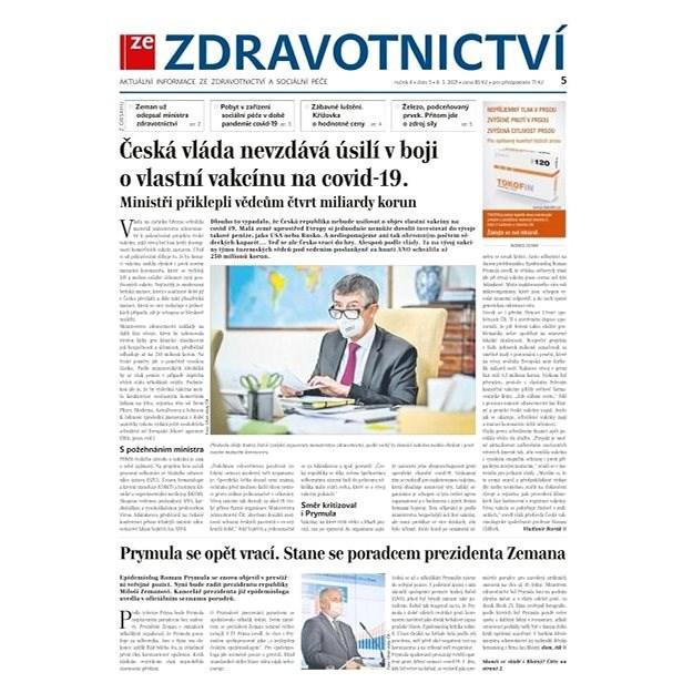 Ze zdravotnictví + PROFI Medicína - 5/2021 - Elektronické noviny