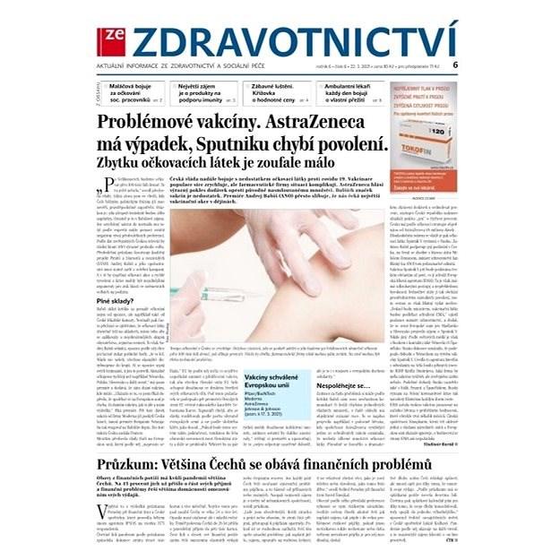 Ze zdravotnictví + PROFI Medicína - 6/2021 - Elektronické noviny