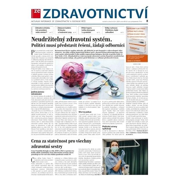 Ze zdravotnictví + PROFI Medicína - 8/2021 - Elektronické noviny