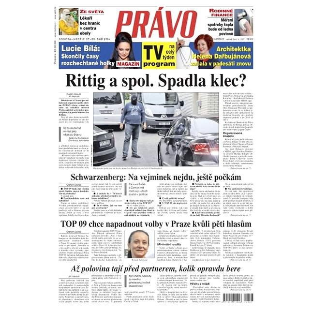 Právo - 27-09-2014 - Elektronické noviny