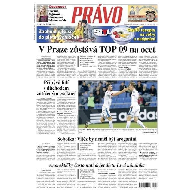 Právo - 14-10-2014 - Elektronické noviny