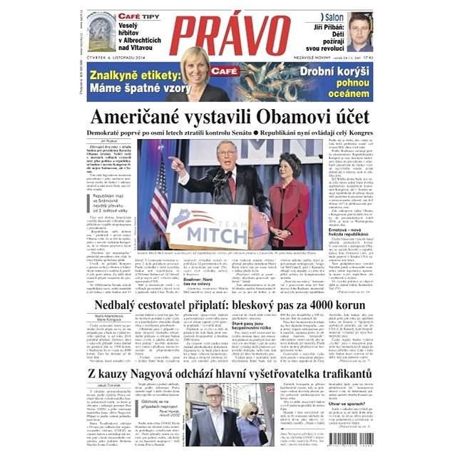 Právo - 06-11-2014 - Elektronické noviny