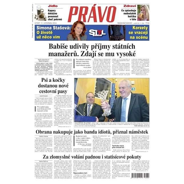 Právo - 11-11-2014 - Elektronické noviny