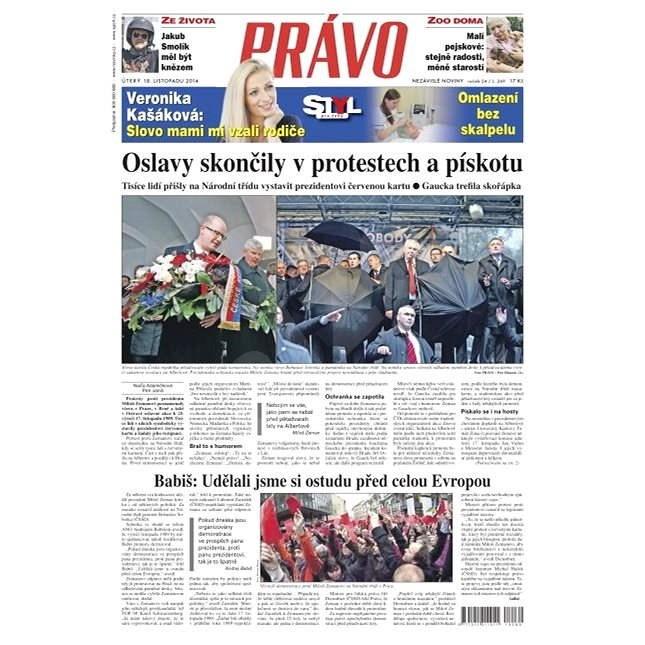 Právo - 18-11-2014 - Elektronické noviny