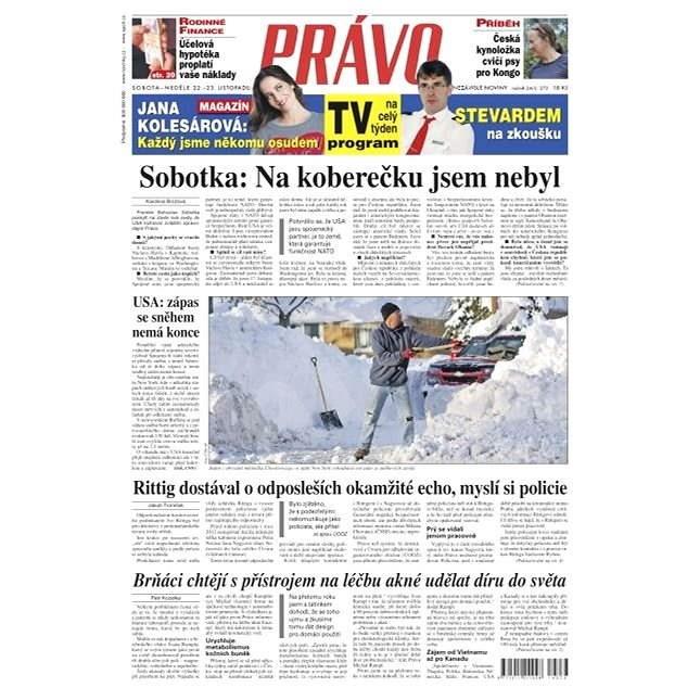 Právo - 22-11-2014 - Elektronické noviny