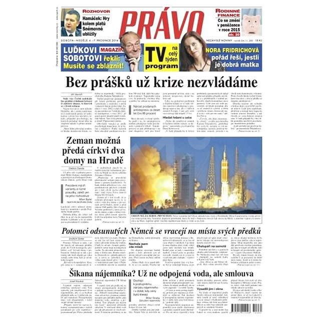 Právo - 06-12-2014 - Elektronické noviny