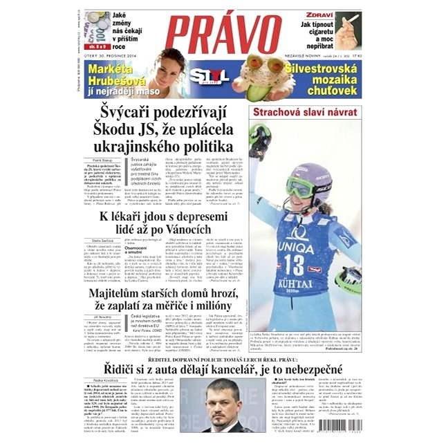Právo - 30-12-2014 - Elektronické noviny