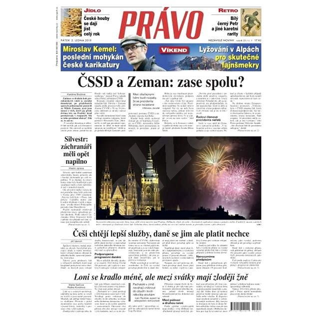 Právo - 02-01-2015 - Elektronické noviny