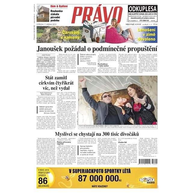 Právo - 07-01-2015 - Elektronické noviny