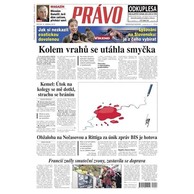 Právo - 09-01-2015 - Elektronické noviny