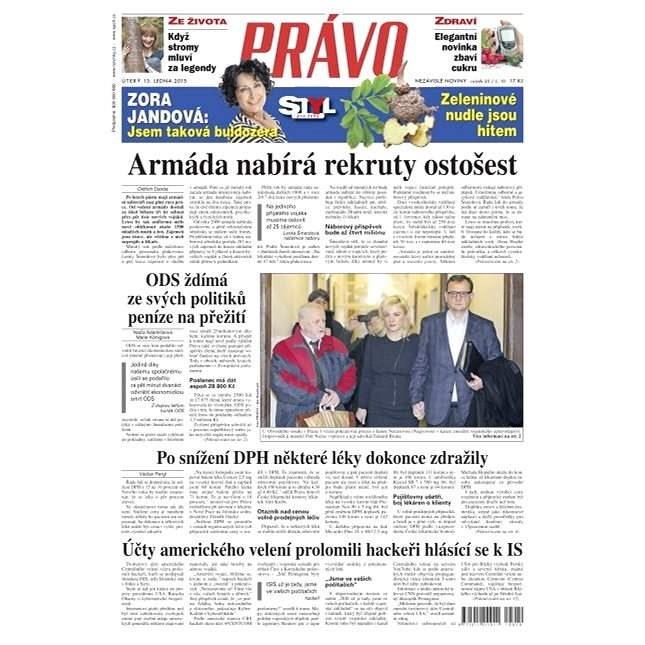 Právo - 13-01-2015 - Elektronické noviny
