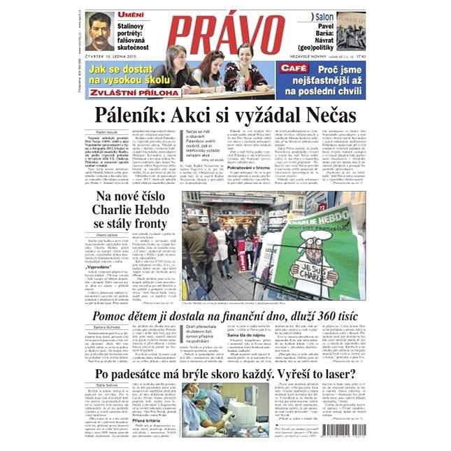 Právo - 15-01-2015 - Elektronické noviny