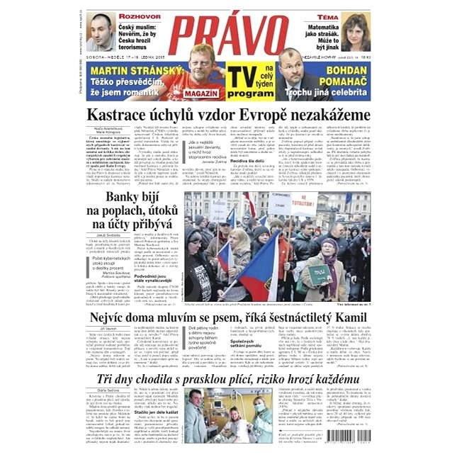 Právo - 17-01-2015 - Elektronické noviny