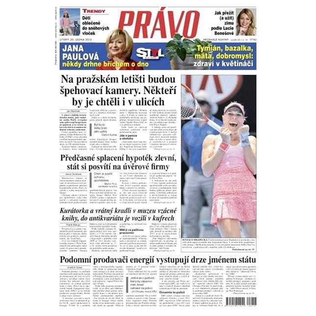 Právo - 20-01-2015 - Elektronické noviny