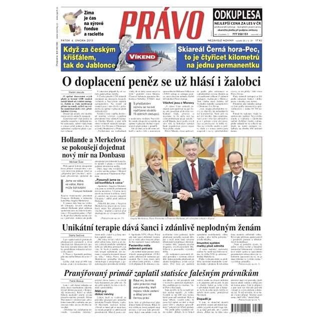 Právo - 06-02-2015 - Elektronické noviny