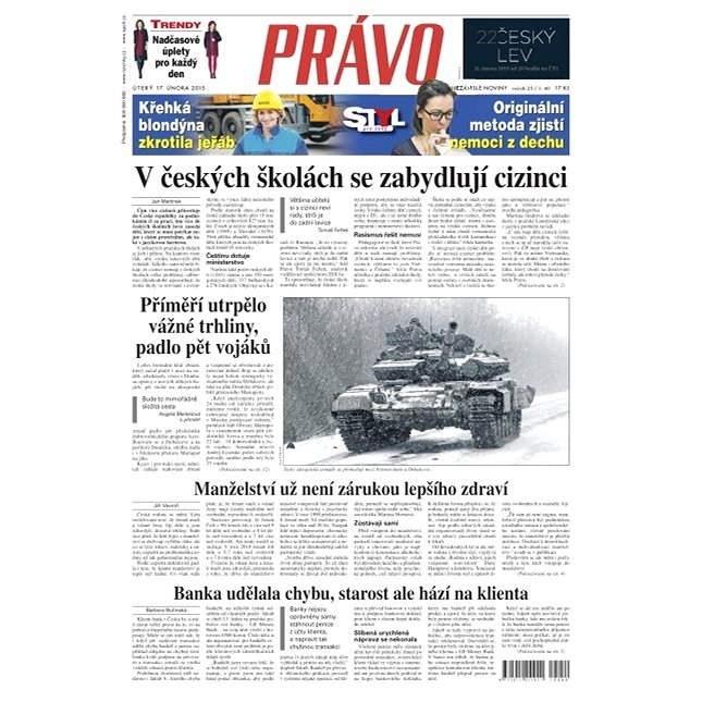 Právo - 17-02-2015 - Elektronické noviny