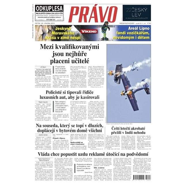 Právo - 20-02-2015 - Elektronické noviny